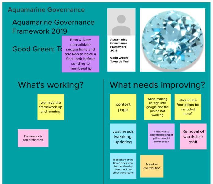STREAM TWO DANGER ZONE-Aquamarine Governance Framework Review