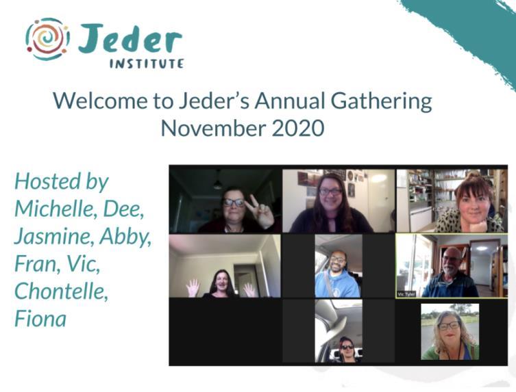 Jeder Gathering Nov 2020